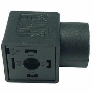 """1/2"""" Conduit Black Connectors"""